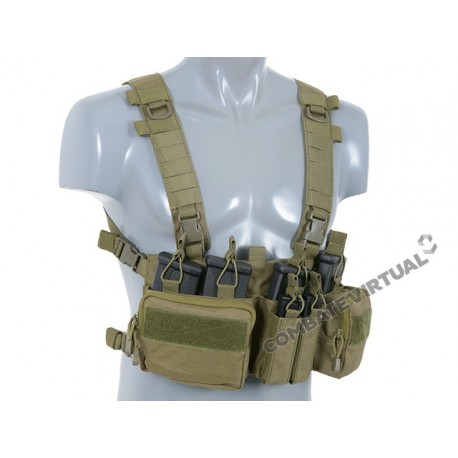 8FIELDS BUCKLE UP RECCE/SNIPER CHEST RIG - OD