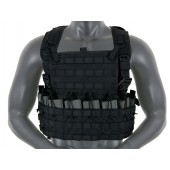 8FIELDS TACTICAL RIFLEMAN CHEST RIG- BLACK