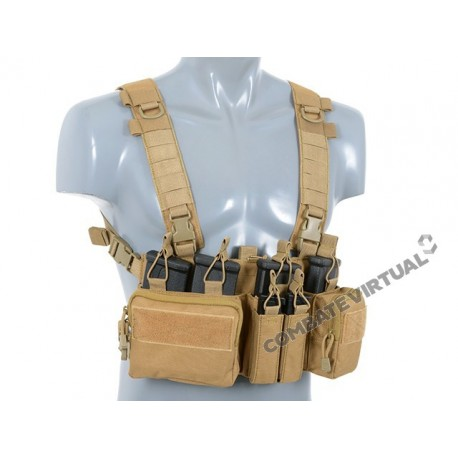 8FIELDS BUCKLE UP RECCE/SNIPER CHEST RIG - TAN
