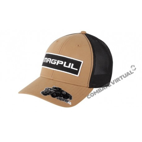 MAGPUL WORDMARK PATCH MID CROWN SNAPBACK - DARK EARTH - Combate Virtual -  Loja de Airsoft