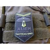 JTG ALIEN INVASION X-FILES, TACTICAL UNIT PATCH AREA-51 NAVAL-GID