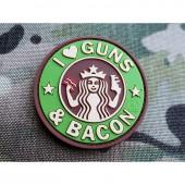 "JTG ""GUNS AND BACON"" PATCH - MULTICAM"