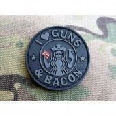 """JTG """"GUNS AND BACON"""" PATCH - BLACK OPS"""