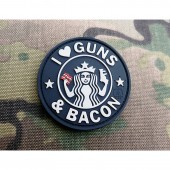 """JTG """"GUNS AND BACON"""" PATCH - SWAT"""