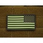 JTG US FLAG REVERSED PATCH - FOREST