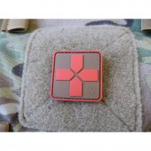 """JTG """"RED CROSS MEDIC"""" PATCH - COYOTE"""