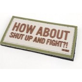 JTG HOW ABOUT FIGHT PATCH - TAN