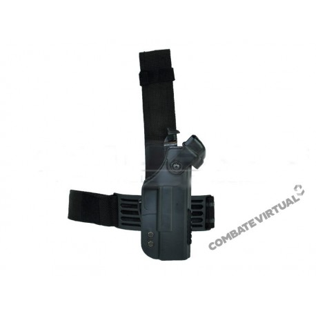ACM HI-CAPA QUICK RELEASE DROP LEG HOLSTER - BLACK