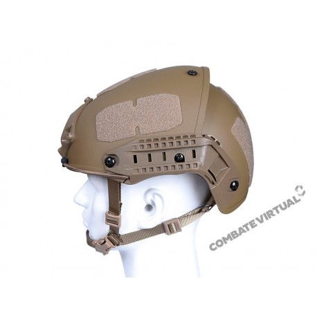 ACM AIRFRAME TYPE BUMP FAST HELMET - TAN
