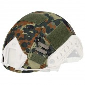 DRAGONPRO TACTICAL HELMET COVER - FLECKTARN