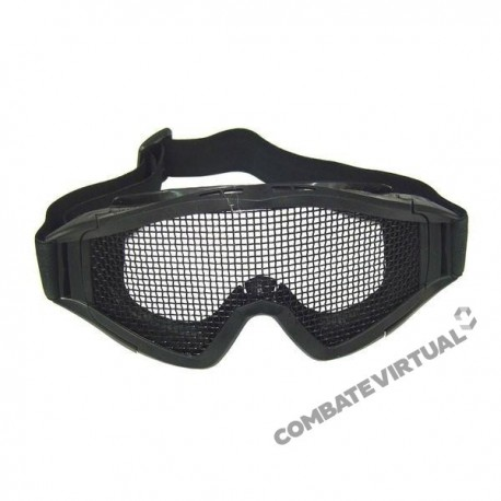 ROYAL GOGGLES (T2) WITH LARGE NET - BLACK
