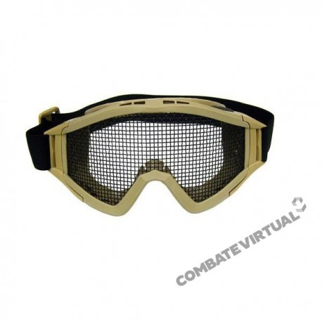 ROYAL GOGGLES (T2) WITH LARGE NET - TAN