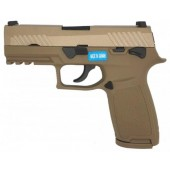 AEG PISTOLA F18 BLOWBACK TAN