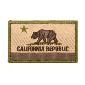ACM US CALIFORNIA STATE FLAG PATCH - OLIVE DRAB