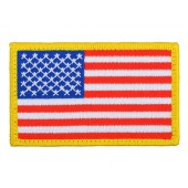ACM US FLAG SMALL PATCH - LEFT