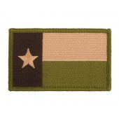 ACM TEXAS STATE FLAG THE LONE STAR PATCH - OLIVE DRAB