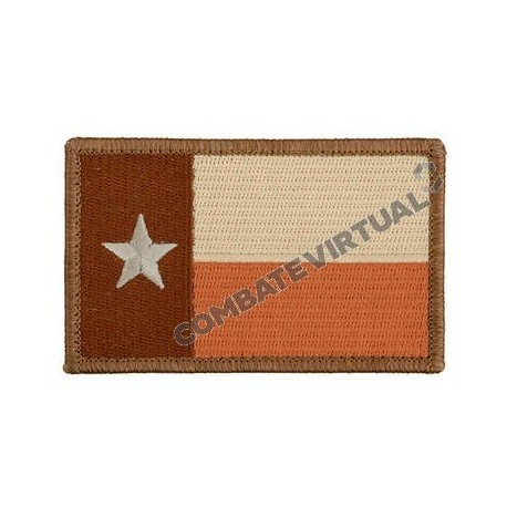 ACM TEXAS STATE FLAG THE LONE STAR PATCH - TAN