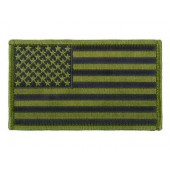 ACM US FLAG BIG PATCH - GREEN