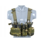 8FIELDS BUCKLE UP RECCE/SNIPER CHEST RIG - MULTICAM TROPIC