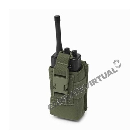 WARRIOR SMALL RADIO POUCH - OLIVE DRAB