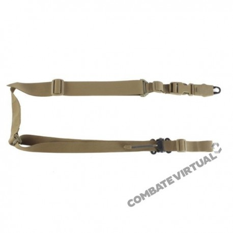 WARRIOR TWO POINT SLING - COYOTE TAN