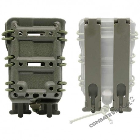 DRAGONPRO DP-PP005-001 5.56 POLYMER MAG POUCH (MOLLE) - OLIVE DRAB