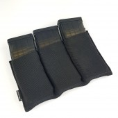 EMERSON TRIPLE M4 POUCH - BLACK PACK 3 CARREGADORES M4