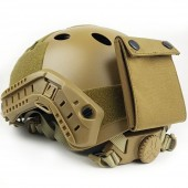 EMERSON FAST HELMET PJ + COUNTER WEIGHT BAG - COYOTE BROWN