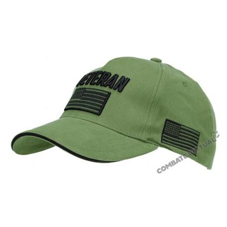 FOXTEX GARMENTS BASEBALL CAP U.S. ARMY VETERAN