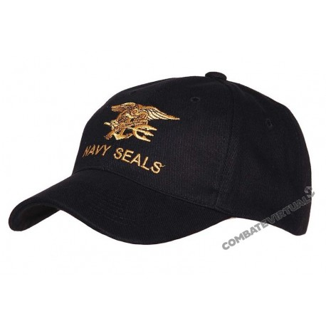 FOXTEX GARMENTS BASEBALL CAP NAVY SEALS