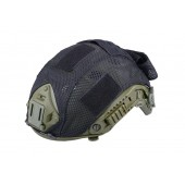 GF TACTICAL FAST TYPE HELMET COVER - BLACK