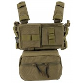 CONQUER MINI CHEST RIG - TAN