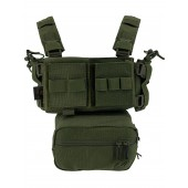 CONQUER MINI CHEST RIG - OLIVE DRAB