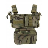 CONQUER MINI CHEST RIG - MULTICAM
