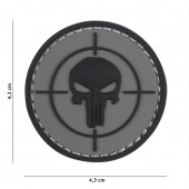 ACM PATCH 3D PVC PUNISHER SIGHT - GREY