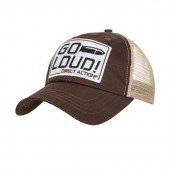 DIRECT ACTION GO LOUD! FEED CAP - BROWN