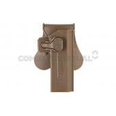 AMOMAX PADDLE HOLSTER FOR WE/TM HI-CAPA SERIES - DARK EARTH