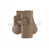 AMOMAX PADDLE HOLSTER FOR CZ P-07/P-09 - DARK EARTH