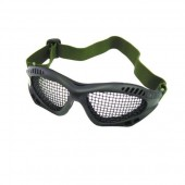 ROYAL TACTICAL GOGGLES WITH STEEL MESH - BLACK
