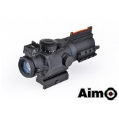 AIM-O SNIPER LT 4X32 RED/GREEN DOT W/ LASER - BLACK