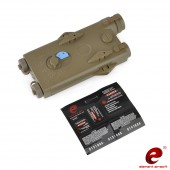 ELEMENT AN-PEQ 2 BATTERY CASE (RED LASER VERSION) - DARK EARTH
