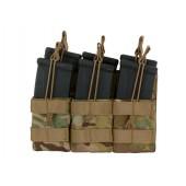 8FIELDS TRIPLE STACKER M4/M16/AR-15 MAG POUCH - MULTICAM