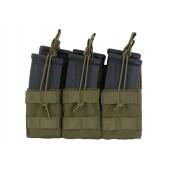 8FIELDS TRIPLE STACKER M4/M16/AR-15 MAG POUCH - OD