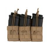 8FIELDS TRIPLE STACKER M4/M16/AR-15 MAG POUCH - TAN