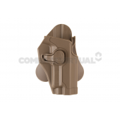 AMOMAX PADDLE HOLSTER FOR WE/KJW/TM P226 - DARK EARTH