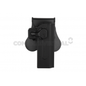 AMOMAX PADDLE HOLSTER FOR KJW HI-CAPA - BLACK