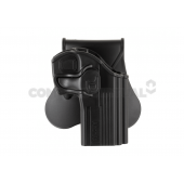 AMOMAX PADDLE HOLSTER FOR CZ 75D COMPACT - BLACK