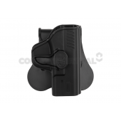 AMOMAX PADDLE HOSLTER FOR WE/VFC M&P9 COMPACT - BLACK