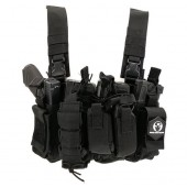 ACM CHEST RIG M4 - BLACK