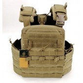 CONQUER APC PLATE CARRIER FULL SET - TAN
